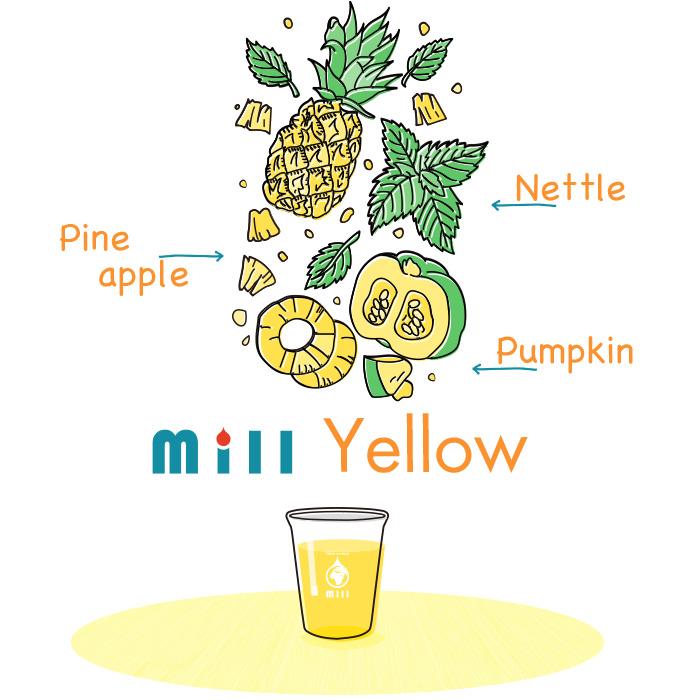 Mill Yellow|ハーブコーディアル